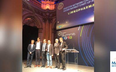 Limnopharma recibe un premio internacional a la mejor start-up europea