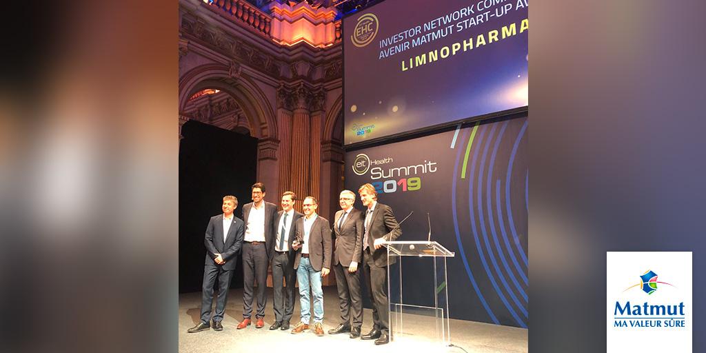 Limnopharma recibe un premio internacional a la mejor start-up europea